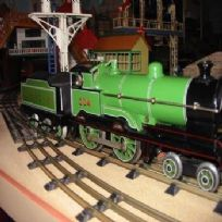 Bing for Bassett-Lowke 4-4-0 Clockwork Locomotive